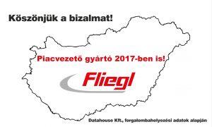 2017-ben is piacvezető a Fliegl